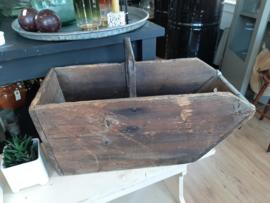 Franse oude houten bak - gruttersbak
