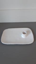 Kandelaar Wit handgemaakt Keramiek