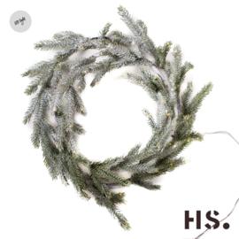 Krans Willow & Wreath Willow met led verlichting