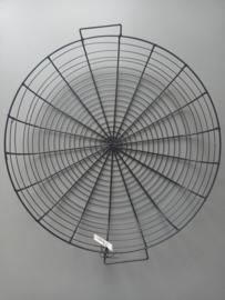 Metalen zwarte basket 50 cm