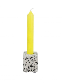 Candle holder terrazzo - marmer