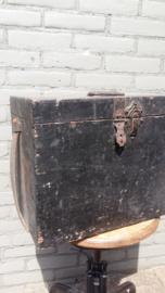 Industriële stoere zwart kist