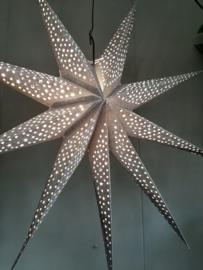 Kerstster glitter  60x60
