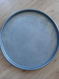 Industriële stoere ijzeren dienblad 55 cm.