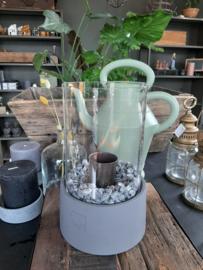Leeff stone fire / tuinhaard  + gratis bio ethanol