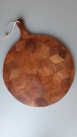 Stoere houten broodplank 40 cm