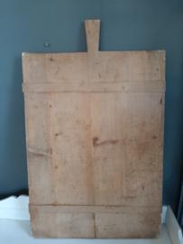 Brocante oude houten broodplank