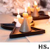 Angel kaars Home society L (candle Angel)