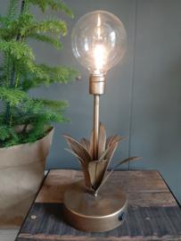 Led lampje met gouden bladeren batterijen.