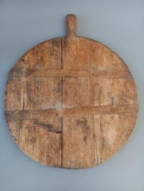Brocante Franse oude houten broodplank nr1