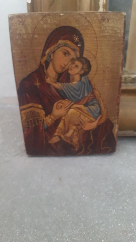 Oude Maria afbeelding