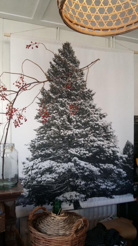 Canvas tree kerstboom