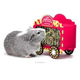 HayPigs!® Wheek Wagon™ - Hay Hopper | Circus hooi wagon
