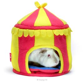 HayPigs!® Circus Hidey Hut™ - Fleece Hidey Hut |