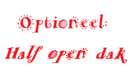 Caviameubel | extra uitbreiding | Half open dak