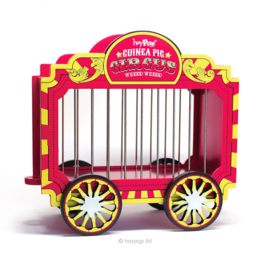 HayPigs!® Wheek Wagon™ - Hay Hopper | Circus hooi wagon