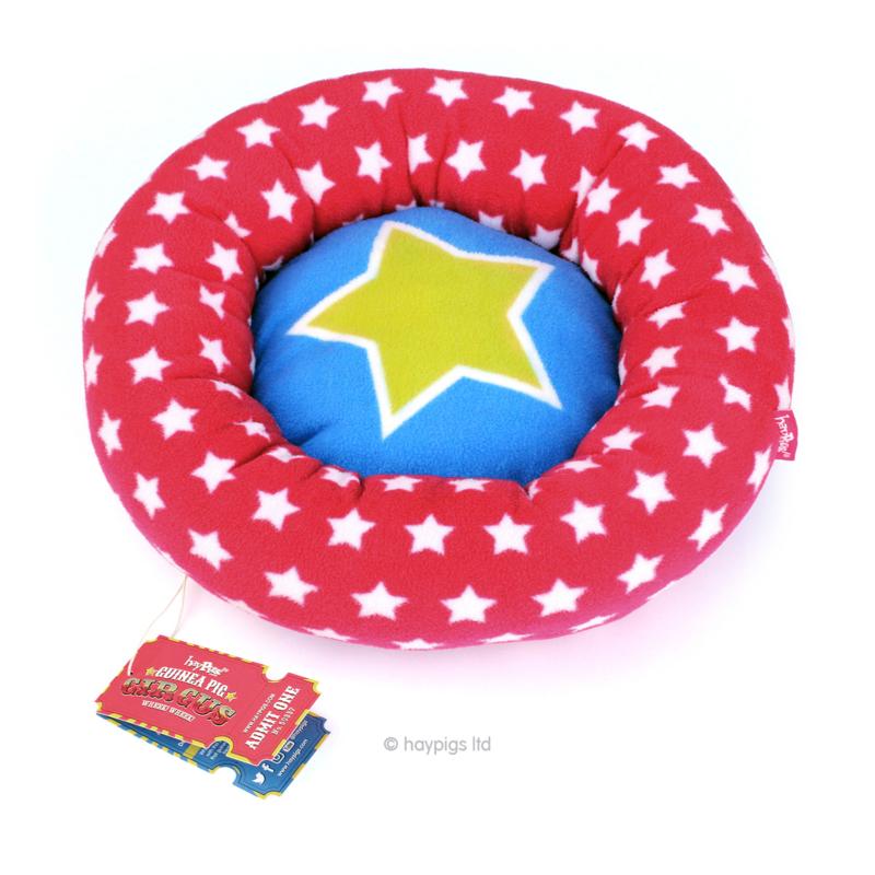 HayPigs!® Piggy Crash Mat™ - Fleece Bed | circus piste van fleece