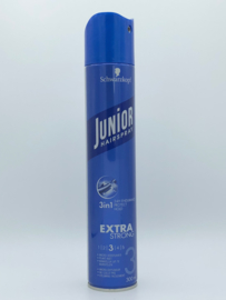 Schwarzkopf Junior Hairspray extra Strong 3   300 ml
