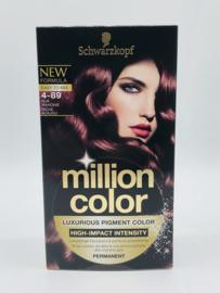 Schwarzkopf Million Color 4-89 Rijk Mahonie