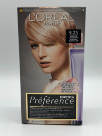 L'Oreal Préférence Infinia 9.23 Rosegold Lichtblond