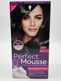 Schwarzkopf Perfect Mousse 200 zwart