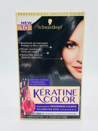 Schwarzkopf Keratine Color 1.0 Zwart