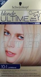 Schwarzkopf Blonde Ultime 10-1 Lichtblond