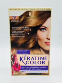 Schwarzkopf Keratine Color 7.5 Caramelblond