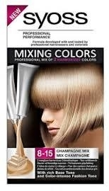 Syoss mixing colors 8-15 Champagne Mix