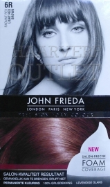 John Frieda Precision foam 6R Light Red Brown