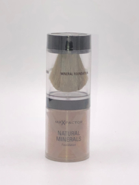 Max Factor Natural Minerals Foundation 45 Warm Almond