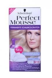 Schwarzkopf Perfect Mousse 910 Platina Blond