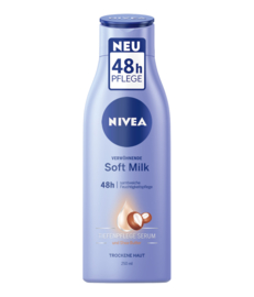 Nivea Soft Milk body milk voor de droge huid 400 ml