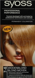 Syoss Professional Performance Midden Blond 7-6