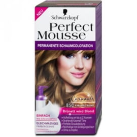 Schwarzkopf Perfect Mousse 850 karamel Blond
