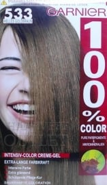 Garnier 100% Color 533 Licht Goudbruin