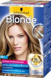 Schwarzkopf Blonde M1 Coup de Soleil Highlights Super Haarkleuring