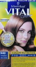 Schwarzkopf Vital Colors N40 Toffeebruin