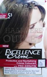 L`Oréal Excellence Creme 5.3 Goudbruin