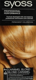 Syoss Professional Performance Caramel Blond 8-7