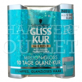 Gliss Kur Hair Repair haarmasker Million Gloss 10 dagen kuur
