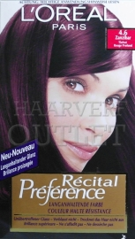 L`Oreal Recital Preference 4.6 Dieprood