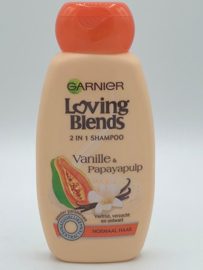 Garnier Loving Blends 2 in 1 Shampoo Vanille en Papayapulp 250 ml