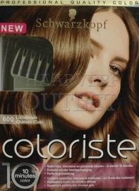 Schwarzkopf Coloriste Licht Bruin 600