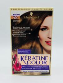 Schwarzkopf Keratine Color 7.0 Donkerblond
