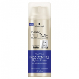 Schwarzkopf Styliste Ultime Satin Frizz Control Defrizz Cream 150 ml