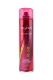 Vidal Sassoon ProSeries Volume Hairspray sterkte 4, 400 ml