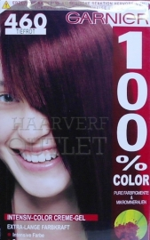 Garnier 100% Color 460 Dieprood