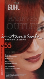 Guhl Intensieve Creme-kleuring 55 Warmroodbruin