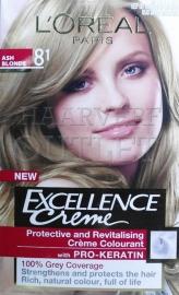 L`Oréal Excellence Creme 8.1 Asblond